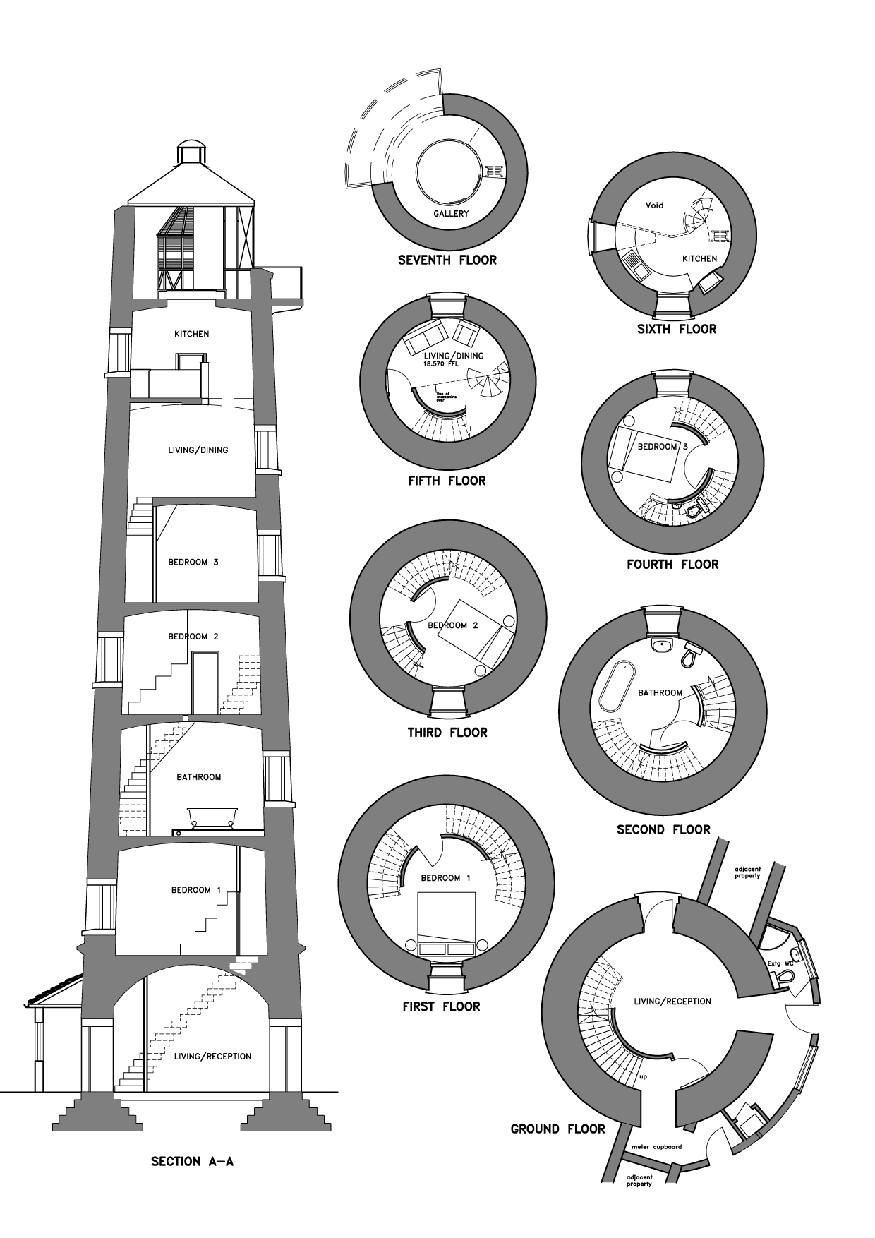 Lighthousesomerset on Medieval Tower House Floor Plan