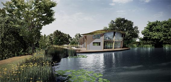 Elspeth Beard Architects Lakeside House