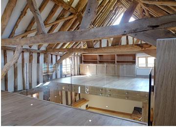 Elspeth Beard Architects Wix Farm Barn