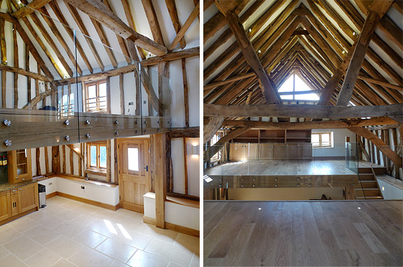 Elspeth Beard Architects Wix Farm Barn